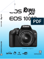 Canon 1000D - Manual