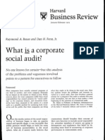 Bauer_What is a Corporate Social Audit