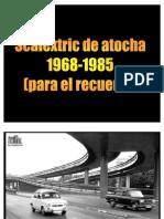 Scalextric de Atocha