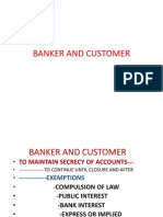 Banker and Customer