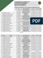 Calendarización Examen de Competitividad