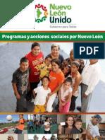 Folleto de programas sociales