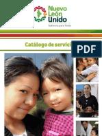 Catálogo de servicios Jefas de Familia