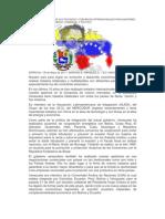 VENEZUELA DEPENDE DE SUS TRATADOS Y CONVENIOS INTERNACIONALES PARA MANTENER SU DESARROLLO ECONÓMICO