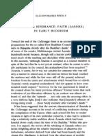Faith in Early Buddhism JIP