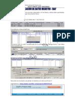 Manual Modificación de Datos Registro SIAF