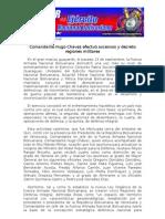Comandante Hugo Chávez efectuó ascensos y decreto regiones militares