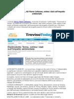 Elettrodotto Terna, AD Flavio Cattaneo, online i dati sull'impatto ambientale (TrevisoToday)