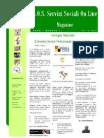 Magazine S.O.S. Servizi Sociali on Line n. 12