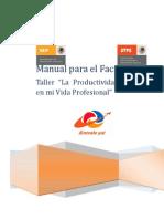 311_Manual_de_facilitador La Productividad Laboral en Mi Vida Laboral