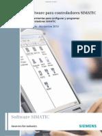 Brochure Simatic Industrial Software Es