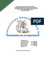Trabajo de Qumica Instrucciones Para El Uso Del Lab Oratorio