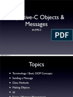 Ch 2 & 3 - ObjC Objects and Messages