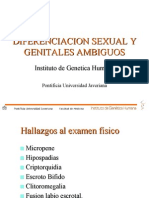 Diferenciacion Sexual y Genitales Ambiguos