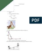 1ª Lista de Exercícios Teorema de Pitágoras e Polinômios