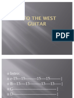 Into the West Guitar