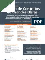 6a Conferencia Gestão de Contratos de Grandes Obras