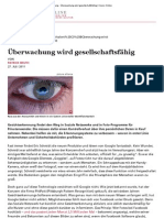 Gesichtserkennung - Überwachung wird gesellschaftsfähig