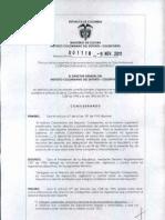 Resolución suspensión Cúcuta Deportivo