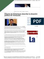Análisis político de Venezuela