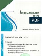 Que es la psicología social