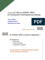 Ohs as 18001 Seminar 2005