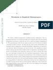 Cristovao Correia da Silva and Ruth M. Williams- Wormholes in Simplicial Minisuperspace