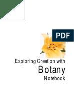 Botony Notebook