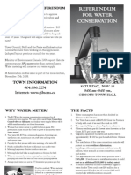 Gibsons Water Meter Referendum Brochure Final
