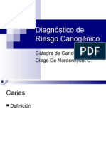 Diagnóstico de riesgo cariogénico con el Cariograma