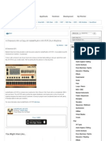 A Chance to Win a Copy of Mobile Rhythm mR-7070 Drum Machine | iDesignSound