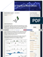 01-18-12 Stock Market Trends & Observations