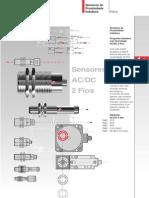 Sensores Balluff - 2 Fios AC-DC