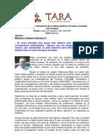 La Transformación Estructural de La Esfera pública_ Michael A. Galascio