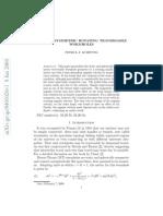 Peter K.F. Kuhfittig- Axially Symmetric Rotating Traversable Wormholes