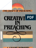 (the Craft of Preaching Series)J. Grant Howard-Creativity in Preaching ( the Craft of Preaching Series)-Ministry Resources Library(1987) (1)