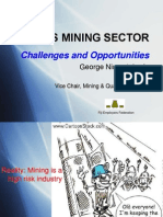 Fef - Fiji Mining Sector - Challenges Opportunities - George Niumataiwalu