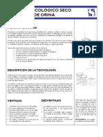 Ficha Sarar - Sanitario Seco