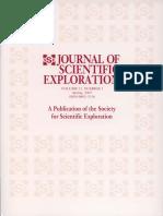 Journal of Scientific Exploration- Volume 21, Number 1