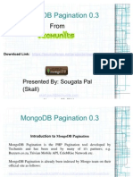 MongoDB Pagination