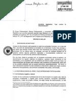"""Proyecto de """"Ley contra la discriminación"""""""