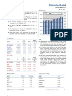 Derivatives Report 19th January 2012