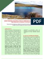 Manifiesto de La Gran Marcha Nacional Por El Derecho Al Agua - 2 Cols