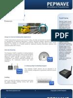 Pepwave TrainFi Datasheet