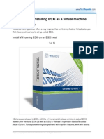 485558-Step-By-step Installing ESXi as a Virtual Machine