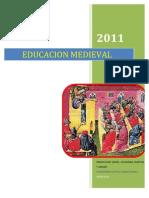 EDUCACION MEDIEVAL ( Patristica y Escolastica