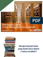 Membaca Cepat Tedx Jakarta Power Point
