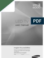 Samsung 32 LED UC4000