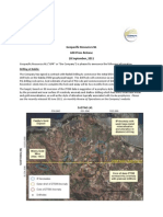 Geopacific Resources NL - ASX Media Release 28 September 2011 - Nabila Gold Project - Nabile Project Update