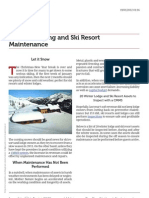 20 Winter Lodge and Ski Resort Assets to Inspect with a CMM